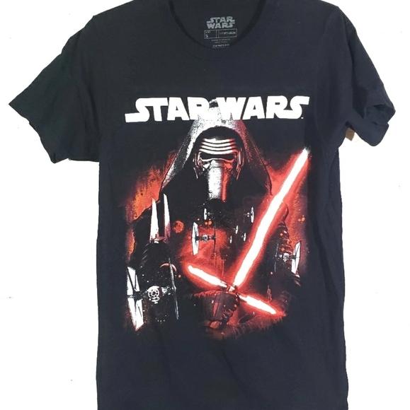 Star Wars T Shirt Size S Mens Black Short Sleeve C